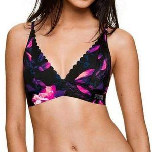 Victoria's Secret BONDED scalloped Bra Small